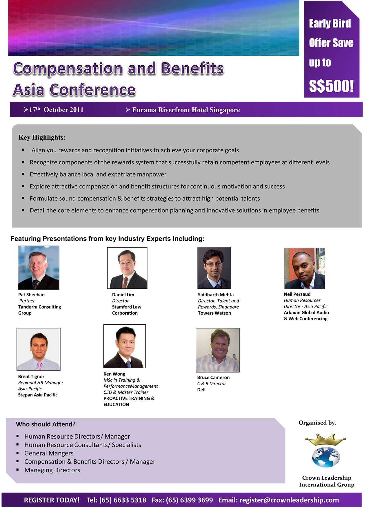 Compensation and Benefits Asia Conf